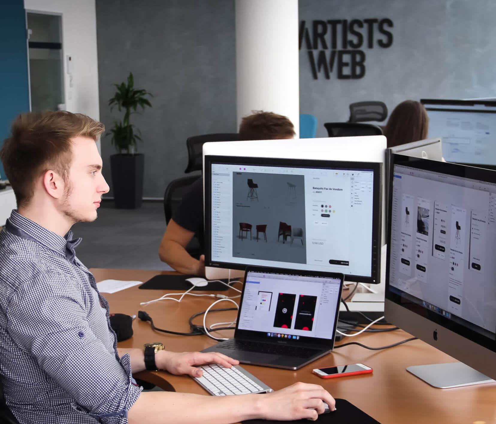 artistsweb-london-webdesignteam
